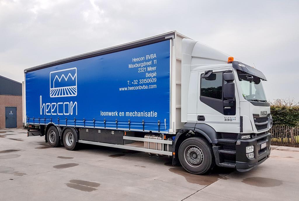 Nieuwe vrachtwagen Heecon